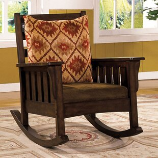 Loon Peak Roise Rocking Chair