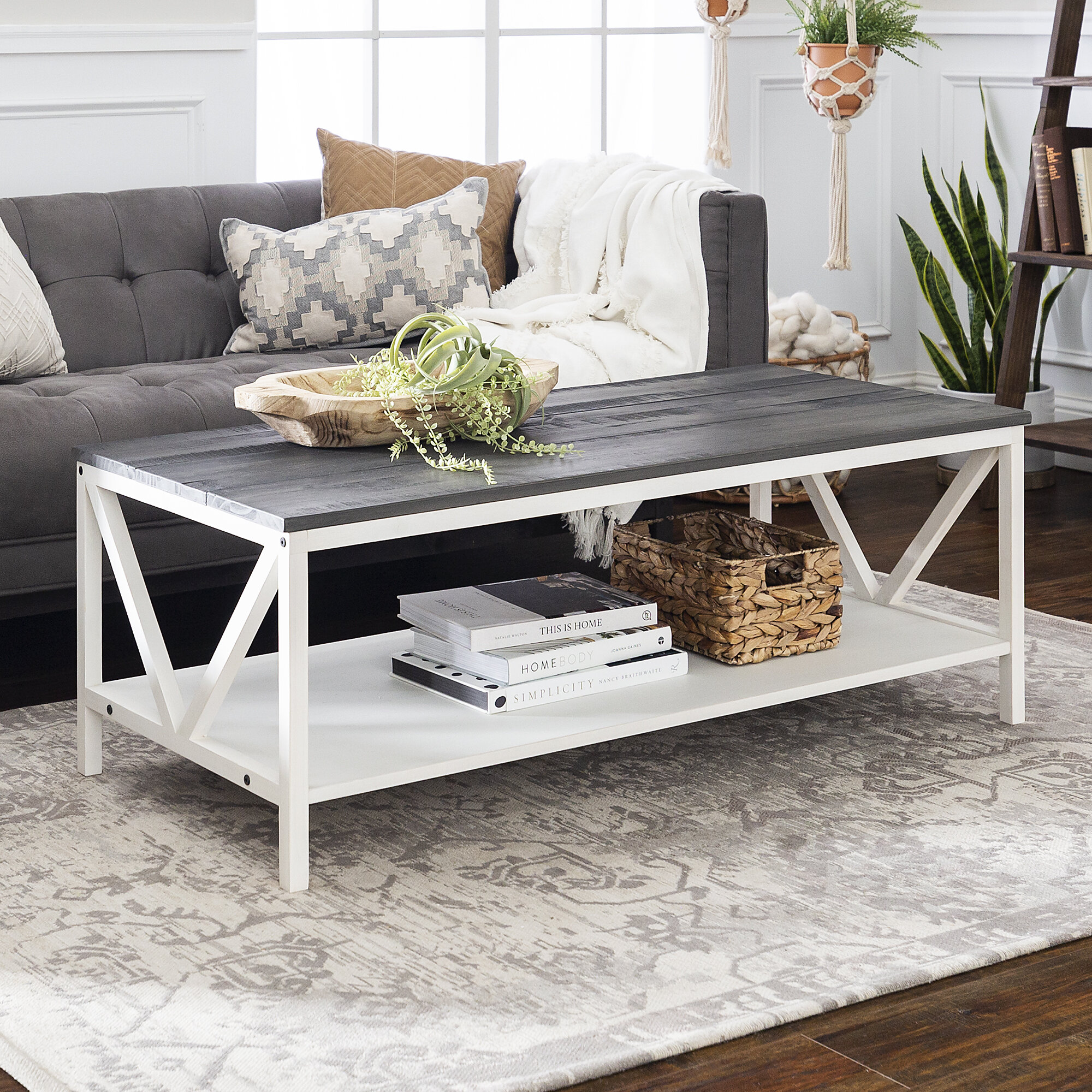 White Coffee Tables Free Shipping Over 35 Wayfair