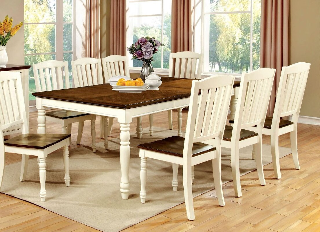 August Grove Andrew Cottage Dining Table