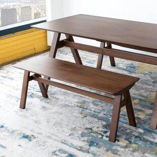 Hester Solid Wood Bench by Corrigan Studio