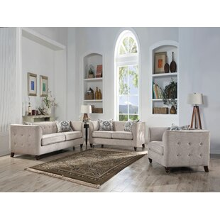 Bungalow Rose Quartz Configurable Living Room Set