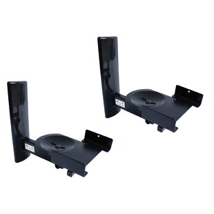 Ultragrip Pro Side Clamping Wall Speaker Mount Set of 2 by BTech