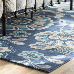 Attractive Tremont Blue Area Rug