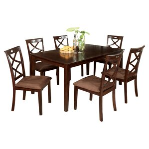 Western 7 Piece Dining Set by Hokku Designs