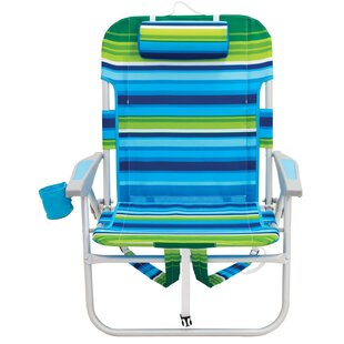 Rio Brands Big Guy Backpack Reclining/Folding Beach Chair (Set of 20)