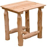 Abbie Outdoor Wooden Side Table