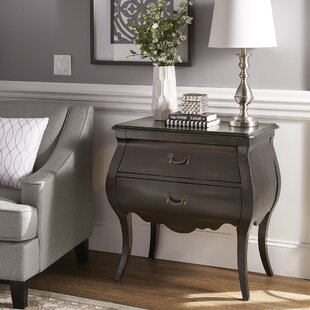 Odum 2 Drawer Nightstand by Astoria Grand