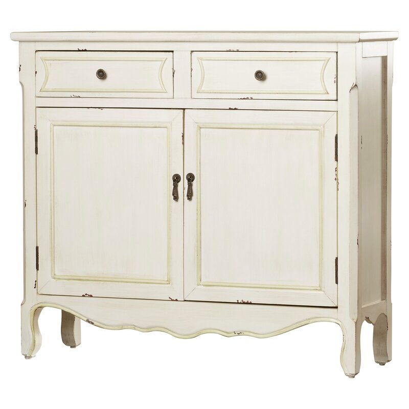Lark Manor Iris 2 Drawer Accent Cabinet & Reviews | Wayfair