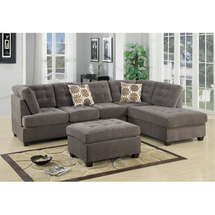 Tomita Reversible Modular Sectional with Ottoman