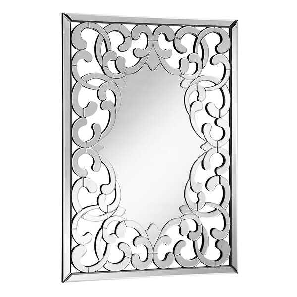 Rosdorf Park Rectangle Wall Accent Mirror Reviews
