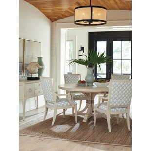 Newport 5 Piece Solid Wood Dining Set Barclay Butera