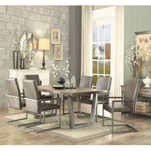 Emeline 7 Piece Dining Set 17 Stories
