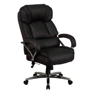 Latitude Run Ash Swivel High-Back Executive Chair