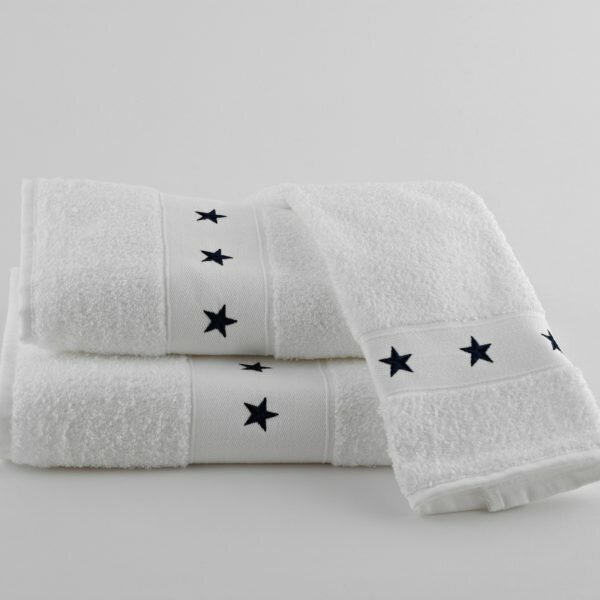 Traditions Linens Stars 100 Cotton Hand Towel Wayfair