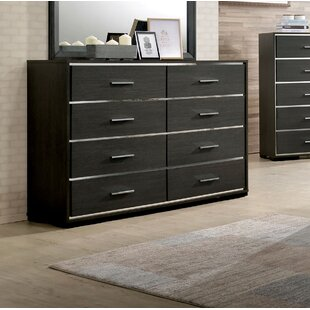 Orren Ellis Addyson 8 Drawer Double Dresser
