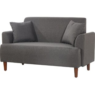 Tomlin Modern Style Loveseat by Turn on the Brights Wonderful