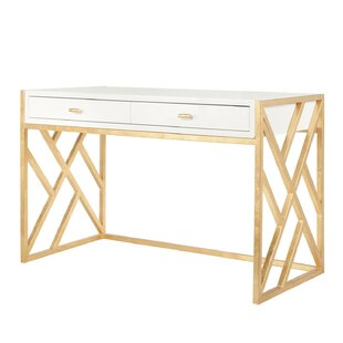 Cordelia 2 Drawer Writing Desk by Worlds Away Best