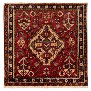 Lohman Hand Hooked Wool Red Indoor/Outdoor Rug By Bloomsbury Market