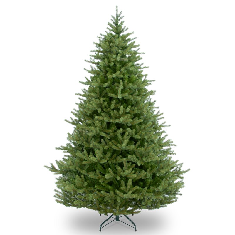 feel real norway 65 green fir artificial christmas tree with stand - 6 Christmas Tree