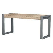 Metal/Wood Dining Bench by Asta Furniture, Inc.