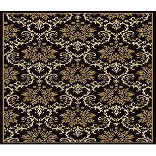 Banning Modern Black/Brown Indoor/Outdoor Area Rug