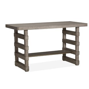 Freitas Wood Rectangular Counter Pub Table
