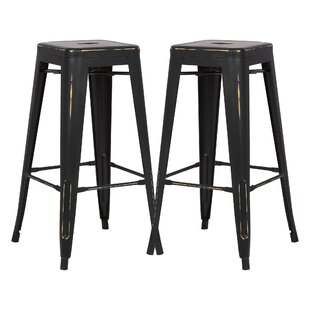 Alyssa 30 Bar Stool (Set of 2) Zipcode Design