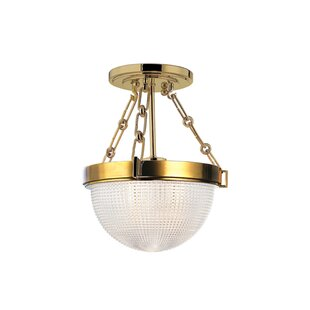 Hesson 1-Light Semi Flush ..