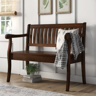 Best Price Ramos Wood Storage Bench By Birch Lane™