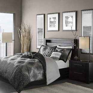 Amparo 7 Piece Contemporary Comforter Set