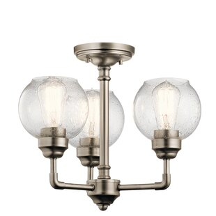 Laurel Foundry Modern Farmhouse Killdeer 3-Light Semi Flush Mount