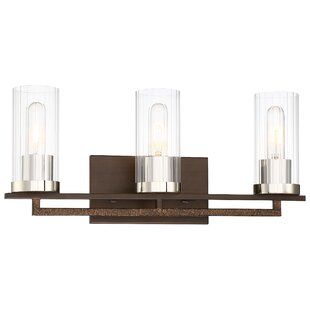 Affordable Price Croxton 3-Light Vanity Light By Williston Forge