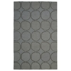 Wool Hand-Tufted Gray/Silver Area Rug