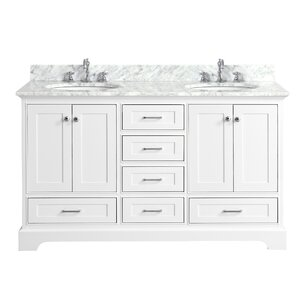 Double Vanity Bathroom Vanity double vanities you'll love | wayfair