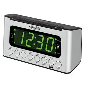 Am Fm Dual Radio With Wave Sensor Tabletop Clock