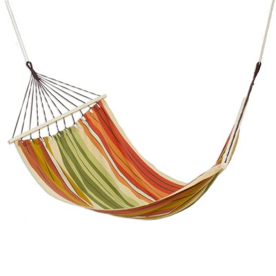Mccrary Autumnal Paradise Cotton Tree Hammock by Bloomsbury Market Find