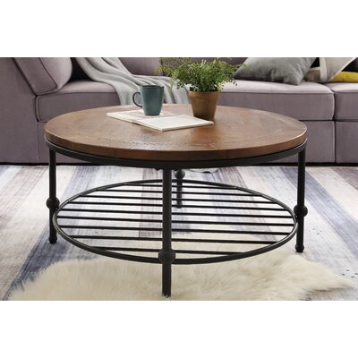 Maryellen 4 Legs Coffee Table With Storage by Union Rustic Best