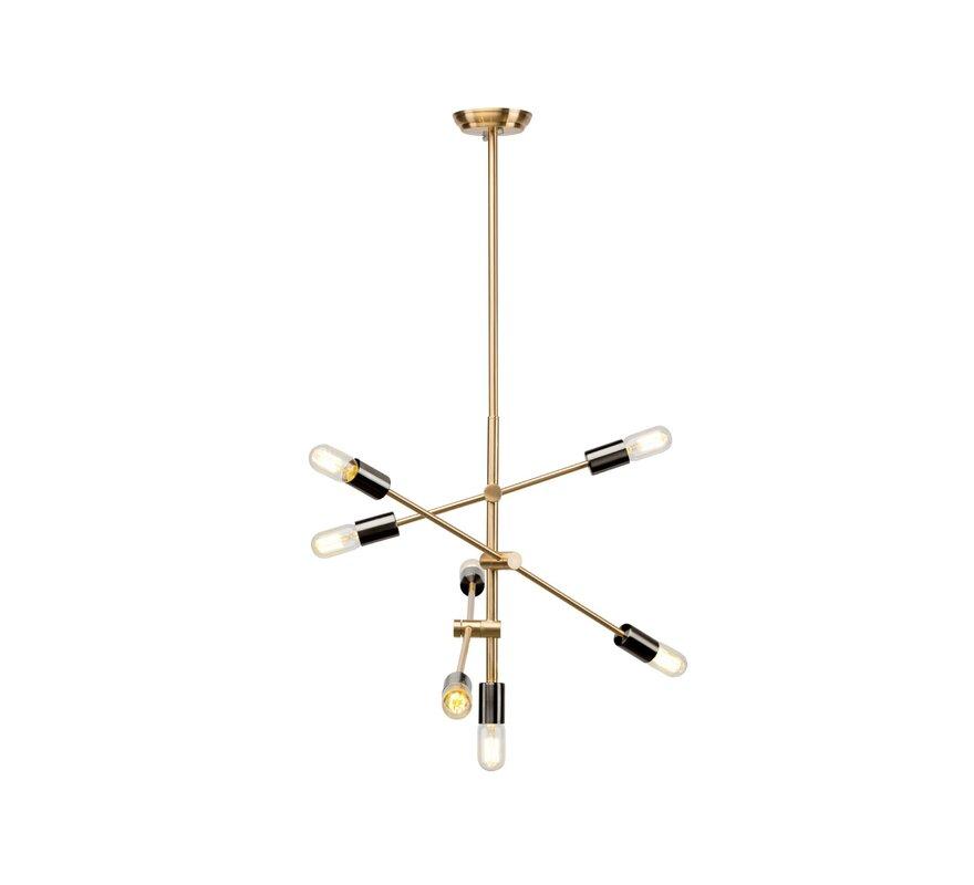 George Oliver Skandar 7 - Light Unique Modern Linear Chandelier