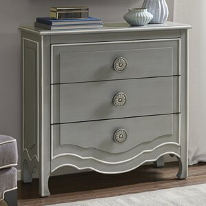 Michal 3 Drawer Dresser by Ophelia & Co.