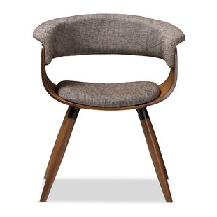 Cronk Mid-Century Upholstered Dining Chair by George Oliver