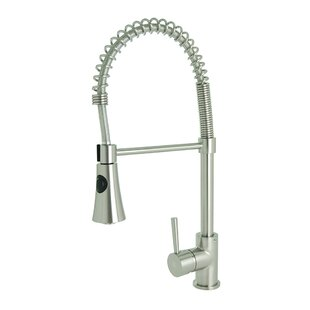 Spring Coil Pull Down Single Handle Kitchen Faucet