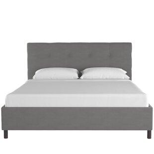 Melaina Upholstered Platform Bed by Everly Quinn