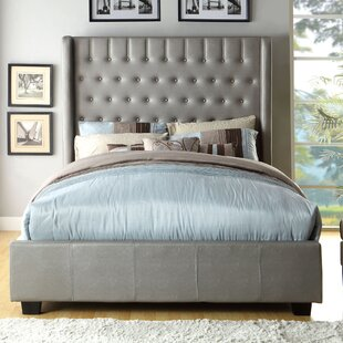 Estelle Freeburg Upholstered Panel Bed