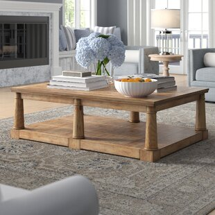 Newsome Coffee Table by Three Posts Discount