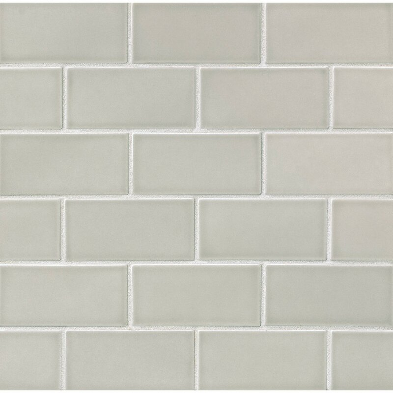 Park Place 3 X 6 Ceramic Subway Tile In Gray