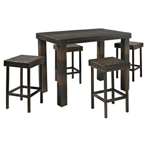 5 Piece Jenna Patio Pub Set
