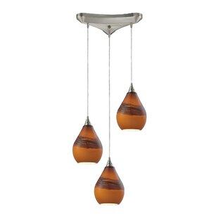 Mellinger 3-Light Pendant by Ebern Designs