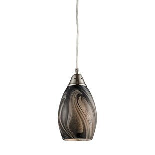 Ebern Designs Sapphire 1-Light Pendant