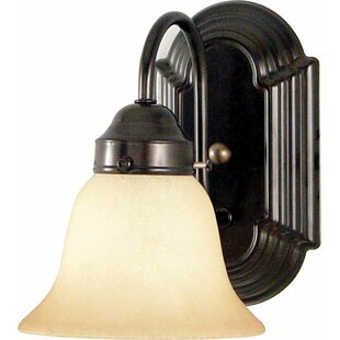 Compare & Buy Minster 1-Light Bathroom Wall Sconce By Volume Lighting