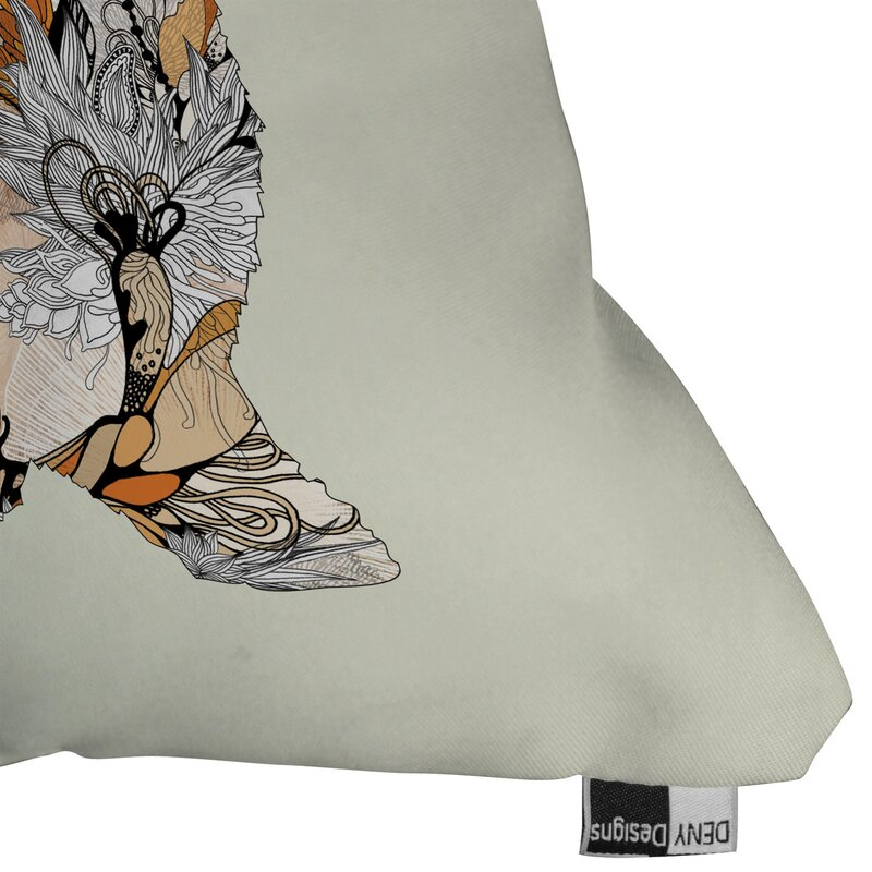 Iveta Abolina Little Rabbit Throw Pillow